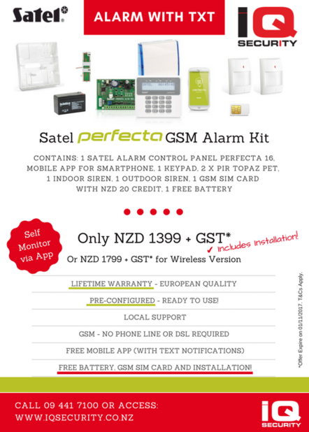 Alarm Systems Promotion Perfecta