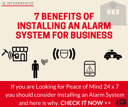 7 Benefits of Installing an Alarm System for Business