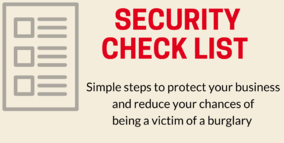 Security Check List by IQ