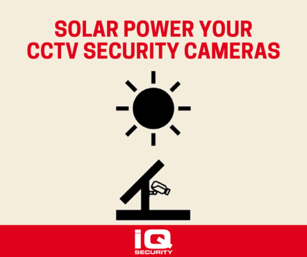 Solar Power CCTV Security Cameras Solutions IQ