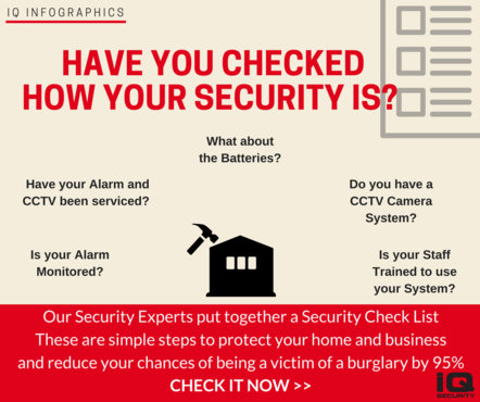 IQ Infographics Security Check List