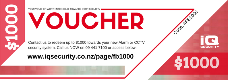 IQ Security 1000 Voucher FB1000